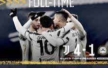 Hasil Liga Italia - Gila-gilaan Sudah Tembus 20 Gol, Cristiano Ronaldo Pimpin Kemenangan Juventus
