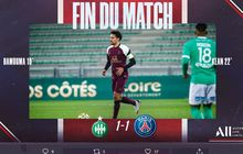 Hasil Liga Prancis - Kebanyakan Diserang, Imbang Saja buat Debut Pochettino di PSG