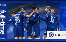 Hasil Piala FA - Gawang Bersih, Chelsea dan Man City Menang Besar