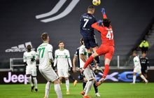 Viral, Cristiano Ronaldo Terbang Sampai Melebihi Kiper Sassuolo