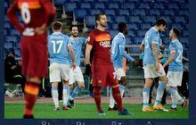 Hasil dan Klasemen Liga Italia - Lazio Bantai AS Roma, Buka Jalan Juventus ke Peringkat 3