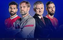 Starting Line-up Terkuat  Liverpool Versus Manchester United