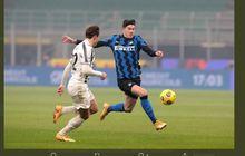 VIDEO - Umpan Membelah Laut Alessandro Bastoni, Bek Inter Milan Rasa Playmaker Legendaris Juventus