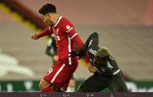 Hasil Liga Inggris - Bruno Fernandes Ngamuk Tak Mau Diganti, Liverpool Vs Man United Tanpa Pemenang