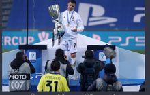 Juventus Juara Piala Super Italia, Ronaldo Kirim Pesan Perang untuk AC Milan dan Inter Milan