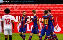 Satu Pemain Jadi Tumbal Kemenangan 2-0 Barcelona atas Sevilla
