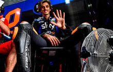 Jika Hujan pada GP Prancis Akan Jadi Pengalaman Pertama Adik Valentino Rossi di Lintasan Basah