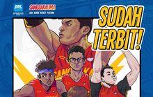 Seri Komik Basket Pertama Indonesia Terbit Hari Ini