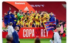 Usai Lewati Jalan yang Sulit, Barcelona Layak Menangi Copa del Rey