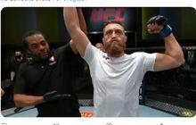 Hasil UFC Vegas 24 - 24 Kali Kunci Lawan, Korban KO 17 Detik Khamzat Chimaev Bangkit