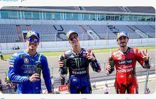 Klasemen MotoGP 2021 - Yamaha Menang Terus, Fabio Quartararo Kangkangi Valentino Rossi 57 Poin