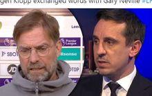 Bingung Dimarahi Pelatih Liverpool, Neville: Entah Apa yang Merasukimu, Klopp