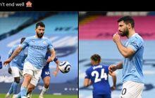 Sergio Aguero Minta Maaf Usai Gagal Jadi Penentu Titel Liga Inggris Kedua Kali, Pep Guardiola Telanjur Kesal