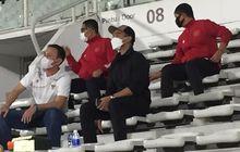 Hadir di Stadion Madya, Kaesang Pangarep Nikmati Suasana TC Timnas Indonesia.
