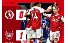 Kalahkan Chelsea Lagi, Arsenal Seperti Kembali ke Era Invincibles