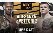 Hasil UFC 263 - Via 5 Ronde, Israel Adesanya Pecundangi Marvin Vettori Lagi