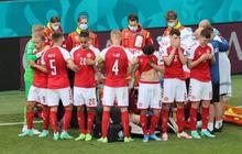 EURO 2020 - Ketika Christian Eriksen Roboh di Lapangan