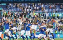 Rekor EURO 2020 - Tak Kebobolan di Fase Grup, Italia Ulangi Prestasi 41 Tahun Lalu