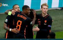 EURO 2020 - Rekor Ngeri Belanda: 3 Kali Sukses Raih Poin Sempurna di Fase Grup