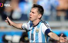Copa America 2021 - Lionel Messi Bangga Jadi Pemain Paling Sering Tampil untuk Argentina