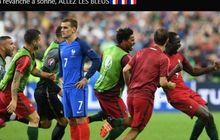 EURO 2020 - Rekor Pertemuan Portugal vs Prancis, Les Bleus Masih Unggul ketimbang Selecao