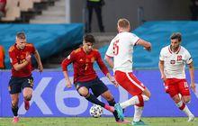 EURO 2020 - Rekor Pertemuan Slovakia vs Spanyol, Sejarah Berpihak pada La Furia Roja