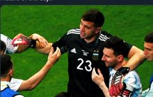 Main dengan Lionel Messi, Emiliano Martinez Jadi Super Saiyan