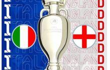 Final Euro 2020 - Italia Menakuti Inggris Lewat Rekor 4 Pertemuan Terakhir