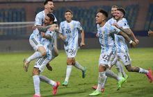 Lemari Trofi Argentina Kini Sepenuh Brasil Usai Curi Satu Trofi Copa America