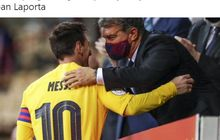 Presiden Barcelona Keceplosan Nama Messi di Acara Penting, Belum Bisa Move On?