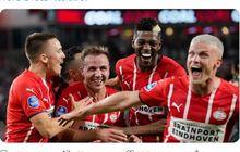 Hasil Liga Champions - Mario Goetze Bawa PSV Eindhoven Ngamuk