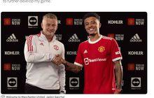 Ole Gunnar Solskjaer Menolak Keinginan Terbesar Jadon Sancho di Manchester United