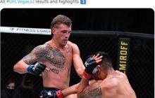 Hasil UFC Vegas 32 - Bensin Habis Selepas Ronde 1, Jagoan Hawaii Alami Kekalahan Pertama