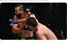 Hasil UFC Vegas 32 - Kandidat Fight of the Night, Raulian Paiva Bekuk Jagoan Ranking
