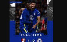 Hasil Pramusim Chelsea - Para Pemain Pinjaman Telah Pulang, The Blues Comeback Lawan  Bournemouth