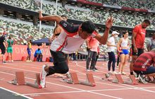Olimpiade Tokyo 2020 - Demi Rekor, Zohri Lakoni Adaptasi Startingblock