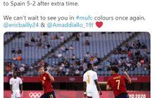 Hasil Lengkap Olimpiade Tokyo 2020 - Blunder Bek Man United Loloskan Spanyol, Wakil Afrika Tamat