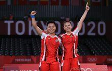 Olimpiade Tokyo 2020 - Ketika Greysia Minta Menang 2 Gim ke Apriyani