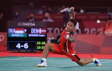 Olimpiade Tokyo 2020 - Head to Head Anthony Ginting Vs Chen Long