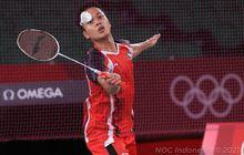 Hasil Bulu Tangkis Olimpiade Tokyo 2020 -  Langkah Anthony ke Final Dijegal Chen Long