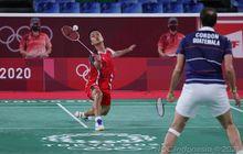 Hasil Bulu Tangkis Olimpiade Tokyo 2020 - Kalahkan Cordon, Anthony Raih Perunggu