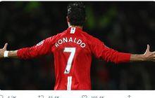 Cristiano Ronaldo Bisa Pakai Nomor 7 di Man United tetapi Maksimal Cuma 13 Laga