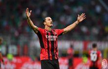 Susunan Pemain AC Milan vs Verona - Zlatan Ibrahimovic Cadangan, Olivier Giroud Starter