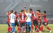 Hasil Liga 1 2021 - Bali United Imbangi Persib Bandung, Kartu Merah Langsung dan Blunder Wawan Hendrawan