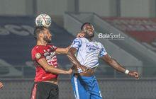 Geoffrey Castillion Dipastikan Tidak Masuk Line Up Saat Persib Vs Bhayangkara FC