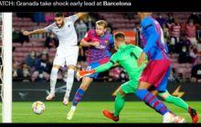 Kejutkan Barcelona, Bek Granada Cetak Gol Tercepat di Camp Nou Sejak Fernando Torres Pada 2005