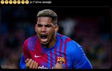 Selamatkan Muka Barcelona Berkat Gol Telat Menit 90, Ronald Araujo Sesalkan Satu Hal