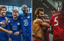 Chelsea dan Liverpool Raih Hasil Identik di Liga Inggris, Lukaku cs di Puncak Karena Ini