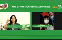 Resmi Jadi Official Sponsor PON XX Papua 2021, Begini Harapan Milo