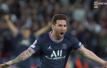 Cetak Gol Pertama untuk PSG, Lionel Messi Tak Bisa Dikontrol dalam Laga Kontra Man City